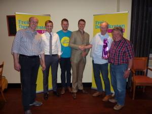 Der neugewählte Vorstand der FDP Bad Bentheim